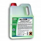 Високо концентриран обезмасляващ дезинфектан ALCOR