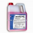 Висококачествен концентриран течен перилен препарат, за ръчно или машинно изпиране на деликатни тъкани DETERLANA