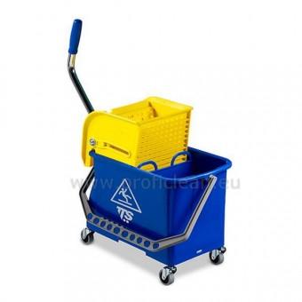 Хигиенна количка TTS DB с преса FLAT 20 л.